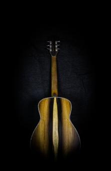 "Nexus 38 ""Sandy"" Railroad Redwood Top Brazilian Rosewood Back & Sides"