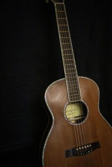 "Nexus 35M ""Train Robber"" Railroad Redwood Top Zirocote Back & Sides"